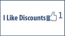 like door drop discounts.