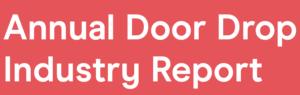 Door drop marketing.